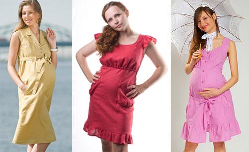Летние платья и сарафаны для беременных 5e3d8ea646d