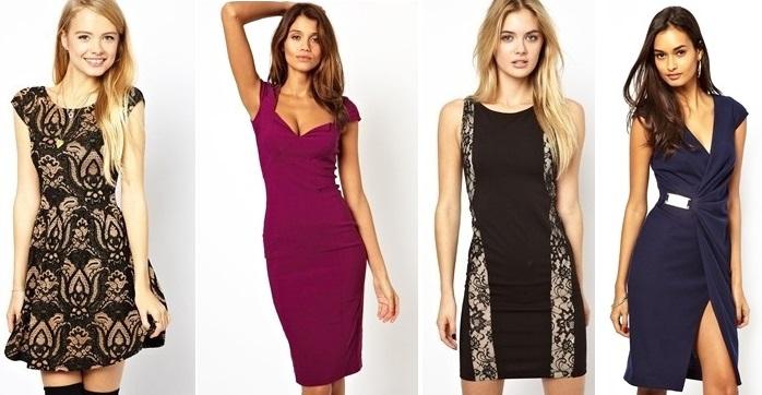 b721921265f ... но мини-платья совершенно точно исключены. Лучшим выбором станет  коктейльное платье миди-длины. Подбираем мы наряд на Новый год или на 8  марта