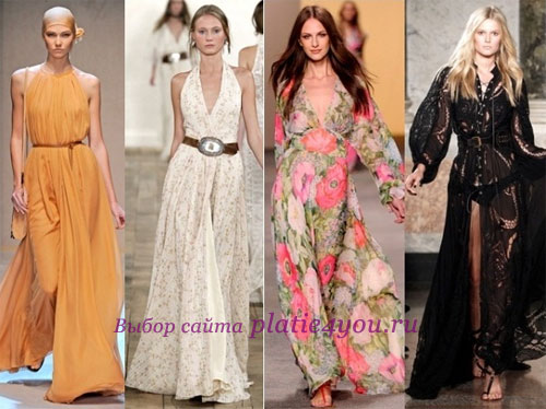 ec09e13cbec3ee9 Мода на лето 2017: платья на каждый день