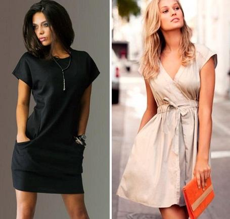простые платья на каждый день фото