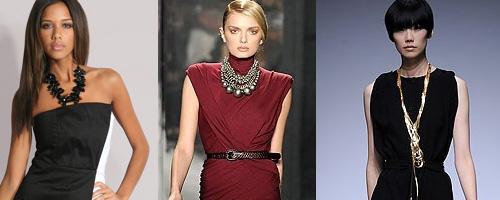 Украшения на шею с платьем фото