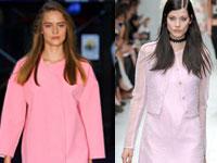 самый модный цвет весной и летом 2014 года - розовый