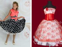 платья для девочек на выпускной