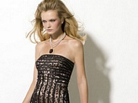 платья с леопардовыми вставками