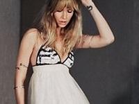 платье и летние сапоги фото