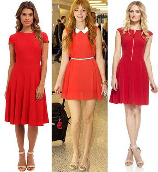 85bc9ba05b9 Секреты стиля  выбираем туфли к красному платью