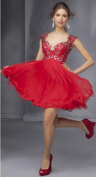 faab4808e3f1b06 Секреты стиля: выбираем туфли к красному платью