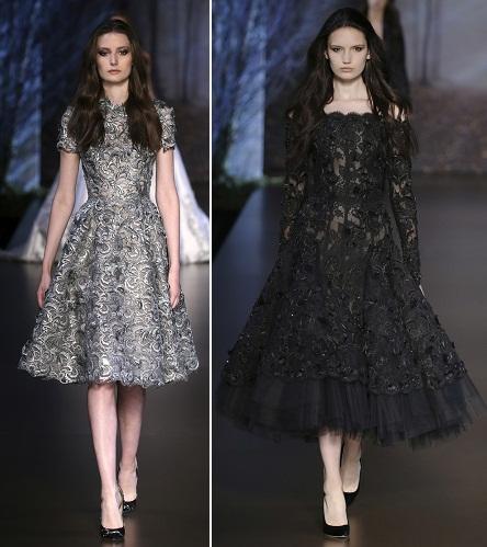 2fd1582ed59 ... платья с юбками-колокольчиками и выраженной талией. Это подчеркивается  не только силуэтом