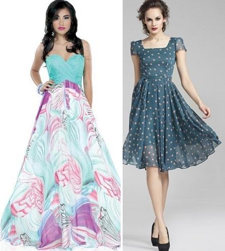 cef9f8db552 Фасоны платьев из шифона фото на каждый день и на праздник