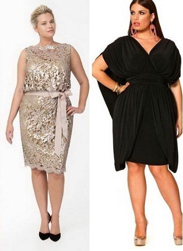 bad0dcf59f7 Платья на торжество для полных женщин
