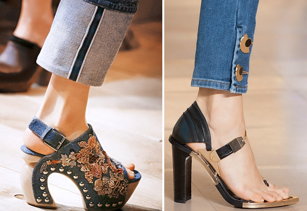 Какая обувь сейчас в моде 2018 фото