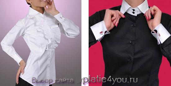87075b9b813 Женские рубашки под запонки  как выбрать и куда носить