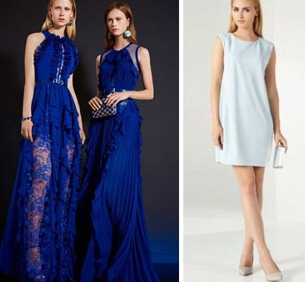 0187edadd81 В этом сезоне полным предложили красивые прямые и приталенные платья.  Последний вариант часто идет с поясом