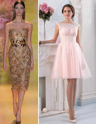 24e27284d65c996 Из отделки часто встречаются вставки из кружева. Рукава или отсутствуют или  короткие, вообще короткое платье – это ...